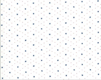 Harbor Springs Cream Blue 14906 11 by Minick and Simpson for Moda Fabrics