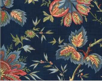 Elinores Endeavor Indigo 31619 16 fabric designed by Betsy Chutchian for Moda Fabrics