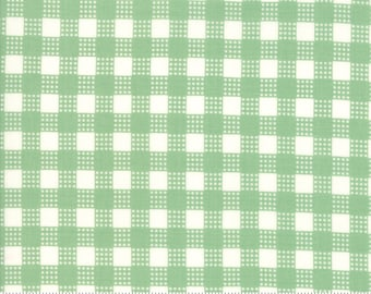 Deer Christmas Spearmint 31166 14 by Urban Chiks for Moda Fabrics