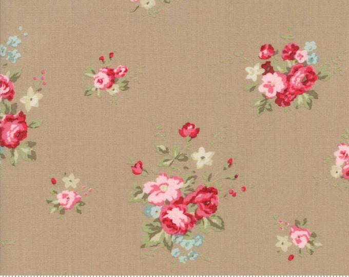 Caroline oatmeal 18650 17 by Brenda Riddle Designs for Moda Fabrics