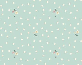 Rose & Violet's Garden Dots Songbird C10415 designed by Miss Rose Sister Violet for Riley Blake Designs