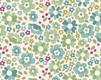 Woodland- Clara Teal TIL100299-V11...a Tilda Collection designed by Tone Finnanger