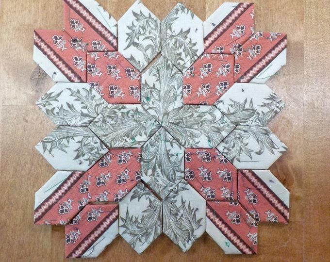 Lucy Boston Patchwork of the Crosses civil war block kit #40
