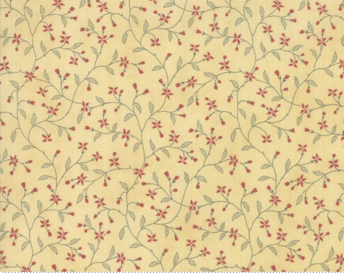 Memoirs Gold 44215 16 by 3 Sisters for Moda Fabrics
