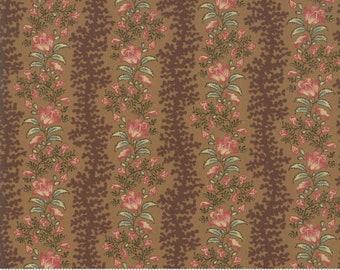 Sarah's Story 1830-1850, Saddle 31592 18 fabric designed by Betsy Chutchian for Moda Fabrics