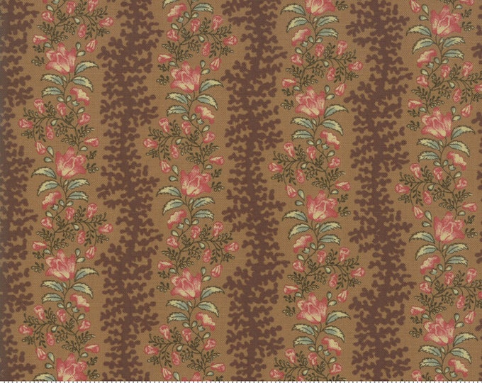 Sarah's Story 1830-1850, Saddle 31592 18 fabric designed by Betsy Chutchian for Moda Fabrics
