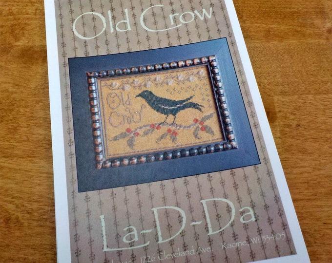 Old Crow by La-D-Da...cross stitch pattern