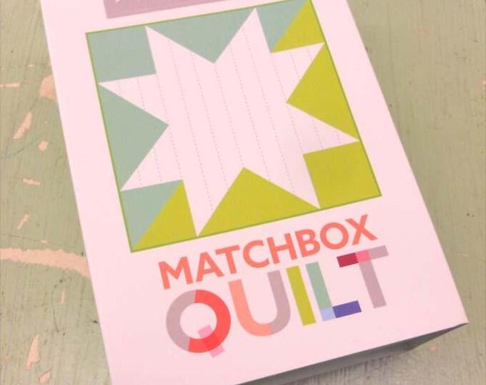 Matchbox Quilt No. 1 by moda fabrics...mini quilt kit...6 inch quilt kit