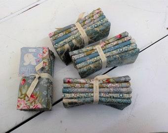 Woodland green and sage fat quarter bundle...a Tilda Collection designed by Tone Finnanger...5 fat quarters