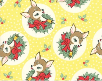 Deer Christmas Twinkle 31161 16 by Urban Chiks for Moda Fabrics