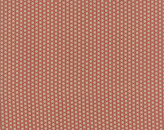 Jardin de Versailles Rouge 13818 11 by French General for moda fabrics