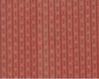 Hickory Road Brick Red 38065 28 by Jo Morton for Moda Fabrics