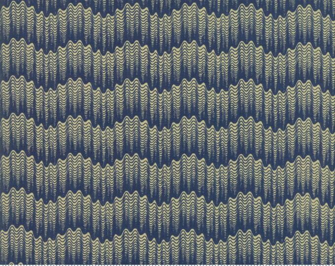 Sarah's Story 1830-1850, Indigo 31595 16 fabric designed by Betsy Chutchian for Moda Fabrics