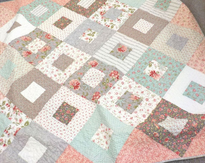 Wildflowers & Ice Cream quilt kit...pattern designed by Mickey Zimmer for Sweetwater Cotton Shoppe