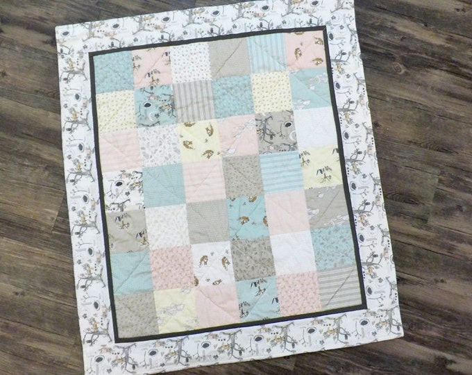 Hushabye Baby quilt kit...pattern designed by Mickey Zimmer for Sweetwater Cotton Shoppe