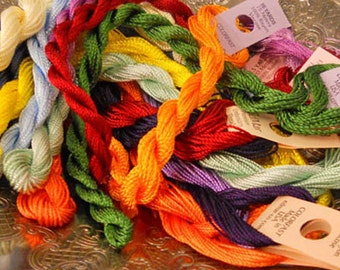 Rainbow Thread Pack of 10 skeins of Edmar Thread.