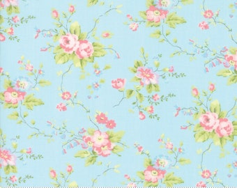 Finnegan 18680-12 Sky by Brenda Riddle Designs for Moda Fabrics