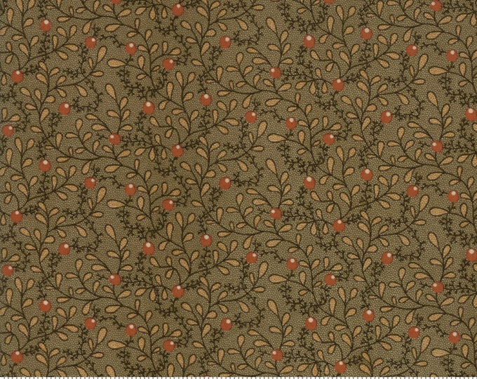 Spice It Up Olive Green 38050 13 by Jo Morton for Moda Fabrics