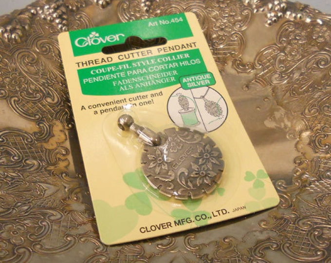 Clover Thread Cutter Pendant