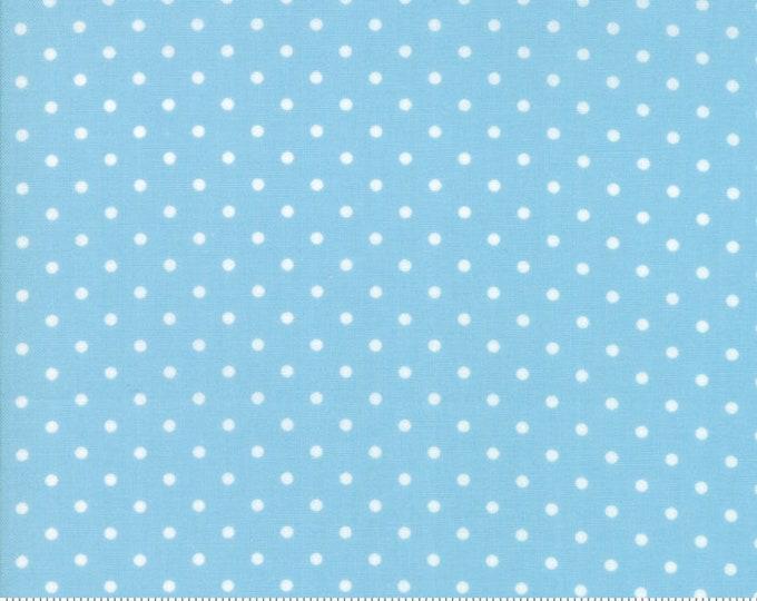 Good Tidings Blue Ice 18666-18 by Brenda Riddle for moda fabrics