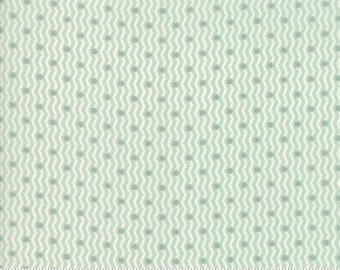 Porcelain Mist 44196 14 by 3 Sisters for moda fabrics
