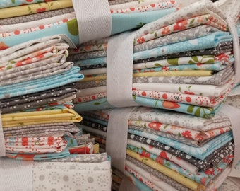 Sugarcreek fat quarter bundle...12 fat quarters...custom bundle...desgined by Corey Yoder of Little Miss Shabby for Moda Fabrics