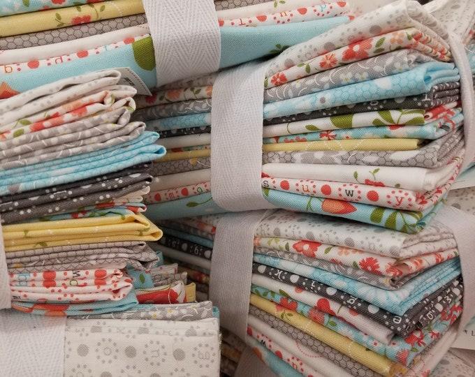 Sugarcreek fat quarter bundle...12 fat quarters...custom bundle...desgined by Corey Yoder of Little Miss Shabby for Moda Fabrics