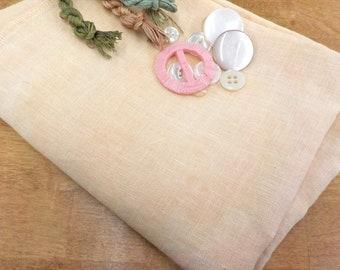 Weeks Dye Works, Baby's Breath, 32ct, Fat Quarter, 100% linen, cross stitch linen