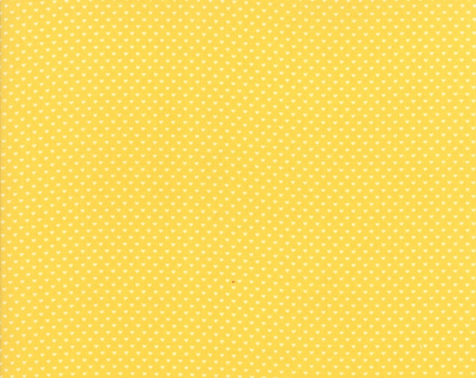 Home Sweet Home yellow  20577 18 by Stacy Iest Hsu for Moda Fabrics