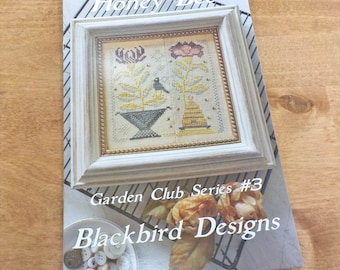 Honey Bee, Garden Club Series #3, by Blackbird Designs...cross-stitch design