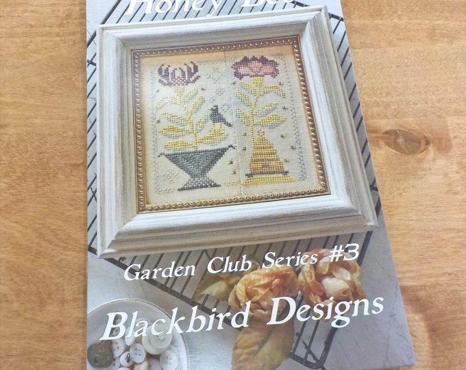 Honey Bee, Garden Club Series #3, by Blackbird Designs...cross-stitch design