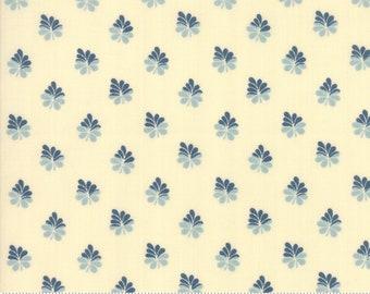 Sarah's Story 1830-1850, Cream 31596 14 fabric designed by Betsy Chutchian for Moda Fabrics
