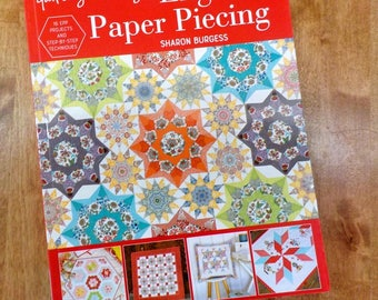 Quilting on the Go...English Paper Piecing by Sharon Burgess for Tuva, 16 projects