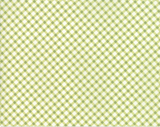 Amberley 18676 13 sprout check by Brenda Riddle Designs for Moda Fabrics