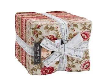 La Rose Rouge by French General for Moda Fabrics...factory cut, 37 skus, fat quarter bundle, precut