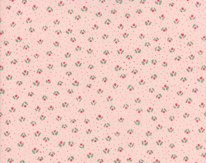 Freya and Friends Rose 1447 15 by Janet Clare for Moda Fabrics