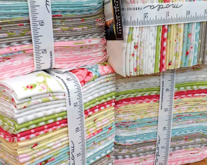 Amberley fat quarter bundle by Brenda Riddle Designs for Moda Fabrics
