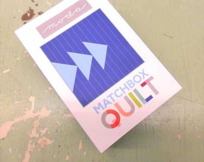 Matchbox Quilt No. 3 by moda fabrics...mini quilt kit...6 inch quilt kit