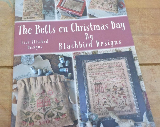 The Bells on Christmas Day by Blackbird Designs...cross-stitch design