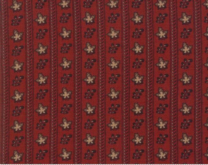 Harriet's Handwork 1820-1840 Berry Red 31572 16 by Betsy Chutchian for Moda Fabrics