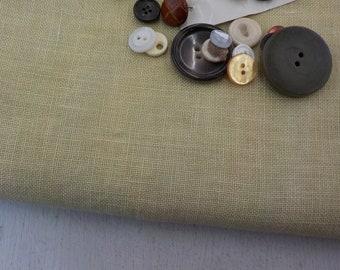 Weeks Dye Works, Cornsilk, 32ct, Fat Quarter, 100% linen, cross stitch linen