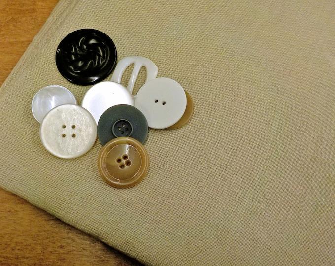 R & R Reproductions, Ligonier Latte, 36ct, Fat Quarter, 100% linen, cross stitch linen
