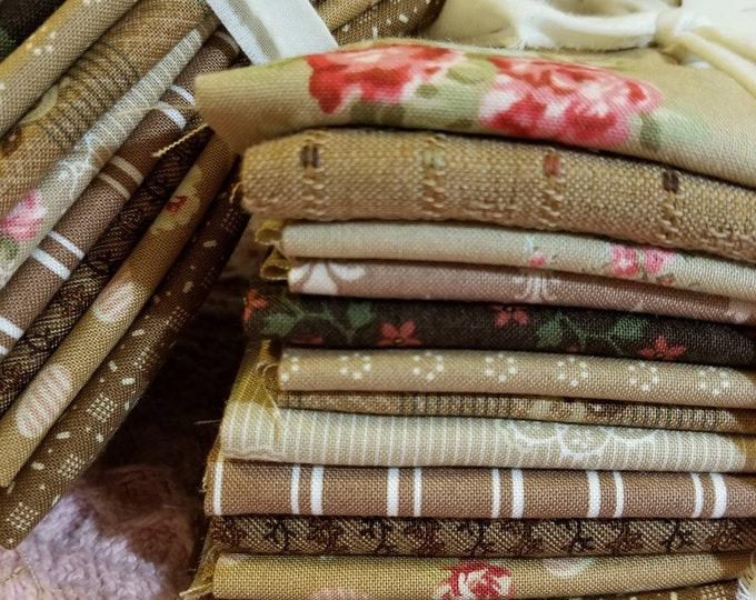 A Box of Chocolates...12 fat quarter bundle...exclusive grouping