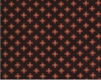 Yesterday Dark Brown 38101 17...designed by Jo Morton for Moda Fabrics