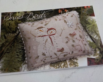 Snow Birds by Brenda Gervais of With Thy Needle & Thread...cross-stitch design