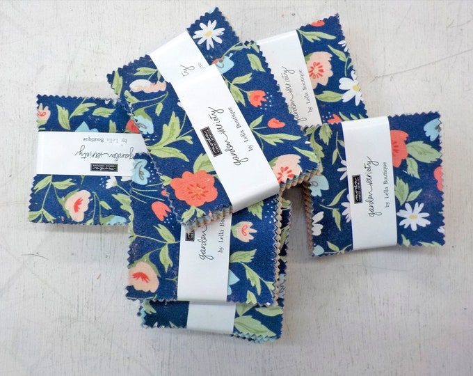 Garden Variety by Lella Boutique for Moda Fabrics...mini charms, 2 1/2 inch squares, moda candy