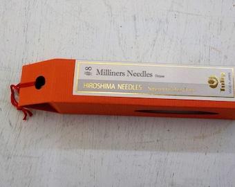 Tulip...Hiroshima needles...Milliners Straw...#8 needles