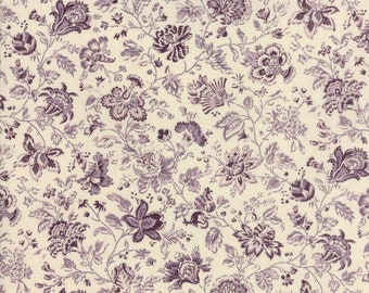 Jardin de Versailles Lavender 13814 19 by French General for moda fabrics