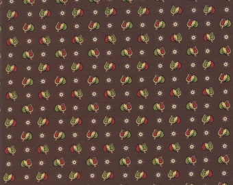 Glad Tidings Dark Brown 38098 16 by Jo Morton for Moda Fabrics