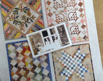 Little Handfuls of Scraps, playful little quilts to fall in love with! by Edyta Sitar for Laundry Basket Quilts